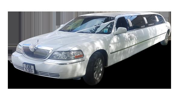 8 Seater White Limo
