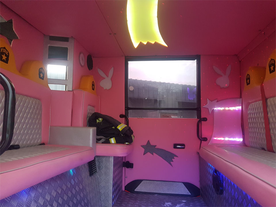 Pink 8 Seater Fire Engine (3)