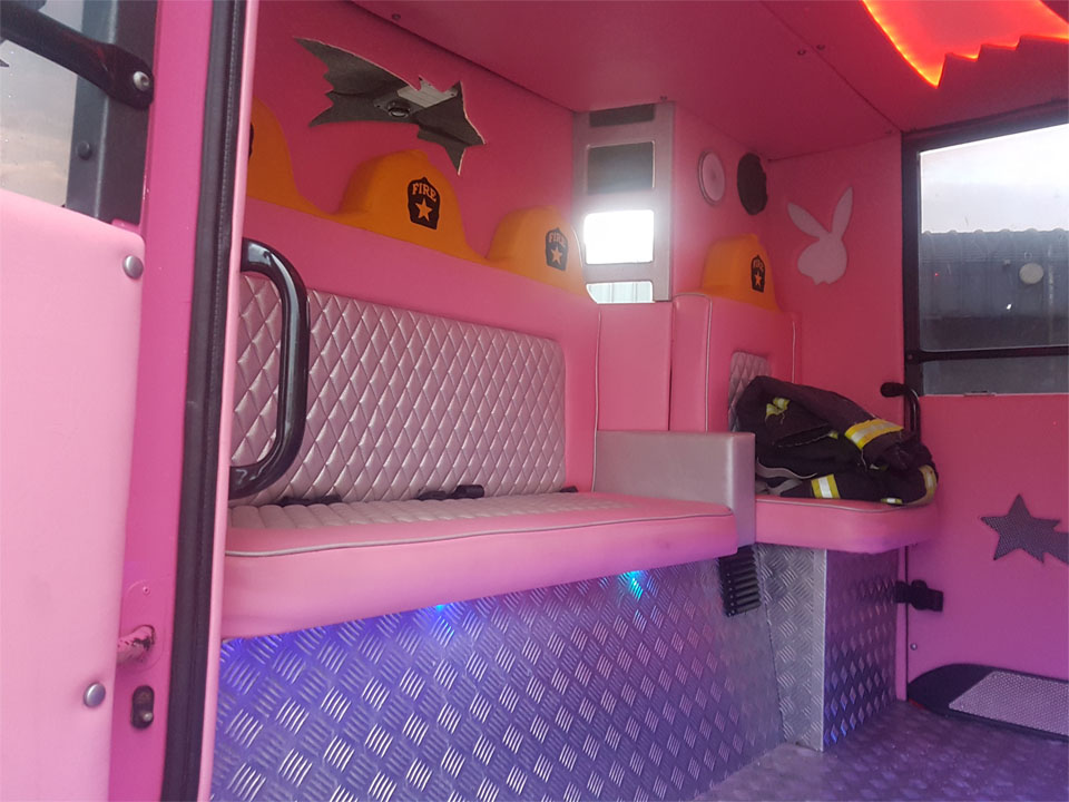 Pink 8 Seater Fire Engine (4)
