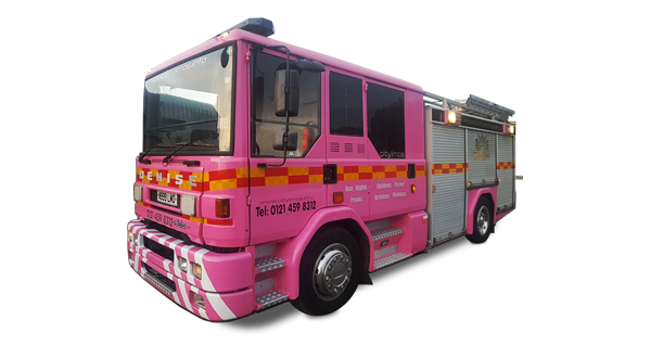 Pink 8 Seater Fire Engine
