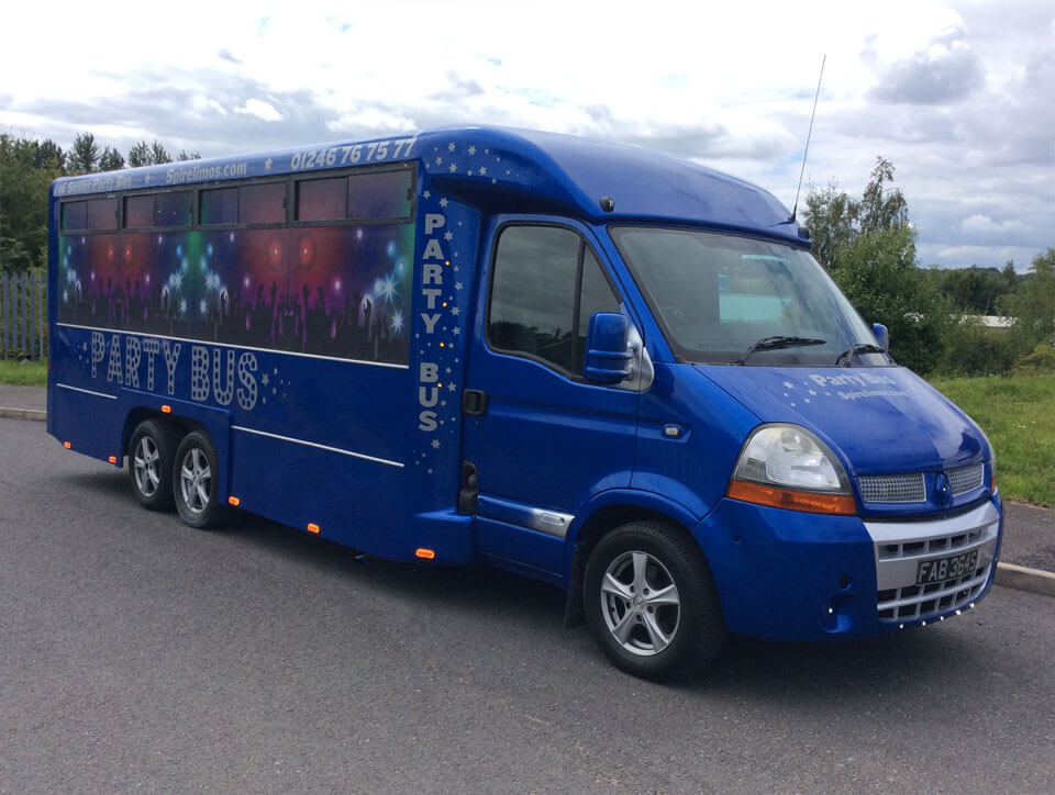 16 Seater Party Bus (1)